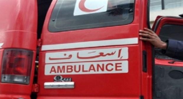 أكادير: إصابة فتاة بجروح بليغة على مستوى الرأس عقب سقوطها من عمارة سكنية
