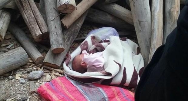 بلفاع.. العثور على رضيع حديث الولادة مرمي بجانب محطة الطاكسيات