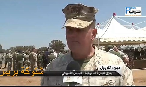 بالفيديو: سيدي بيبي..تدريب عسكري مغربي أمريكي بمنطقة تيفنيت