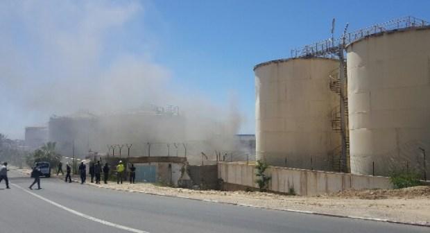 أكادير … عناصر الوقاية المدنية تتمكن من احتواء حريق بمحاداة خزانات للوقود