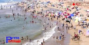 بالفيديو..ارتسامات المواطنين حول أجواء الاصطياف بشاطيء تيفنيت