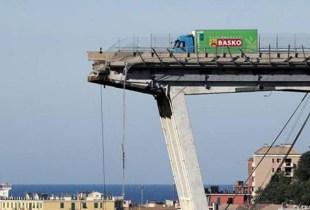 سائق مغربي ينجو بأعجوبة من حادث انهيار الجسر المعلق بجنوة الإيطالية