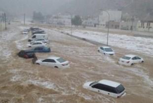 مصرع 30 شخصا وإنقاذ 1480 آخرين في سيول السعودية