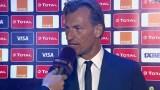 تصريح هيرفي رونار حول مجموعة المنتخب القوية لكأس الأمم الأفريقية