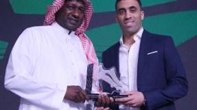 حمد الله يتوج بجائزة أفضل لاعب في الدوري السعودي للمحترفين
