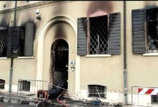 قاصر يضرم النار في مقر للشرطة ويتسبب في مقتل شخصين