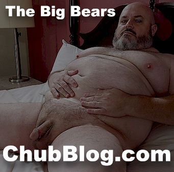 right2 - Straight bear showing his feet on webcam