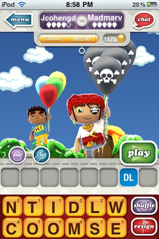 Hanging With Friends - Pirate outfit and skull balloons