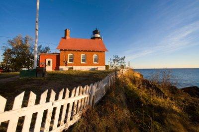 Historic Eagle Harbor Lighthouse