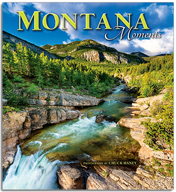 Montana Moments by Chuck Haney coffee table book