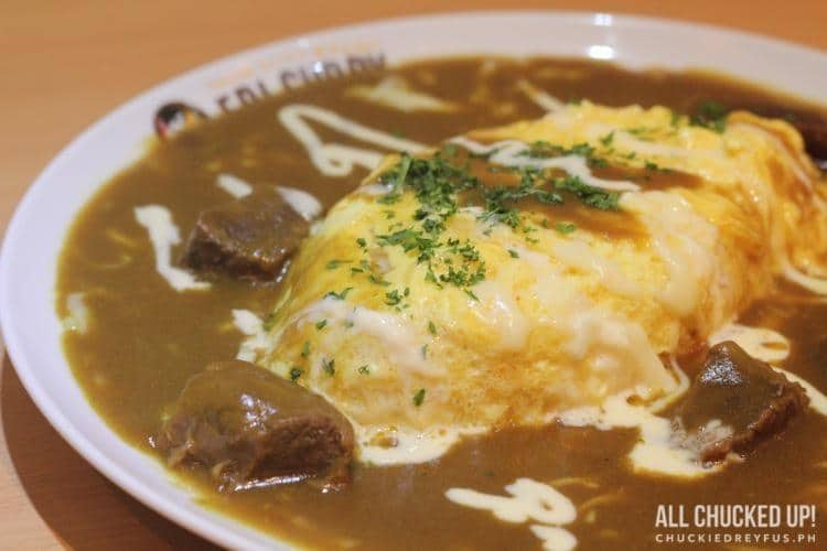 Eri Curry - Beef Omelette Curry