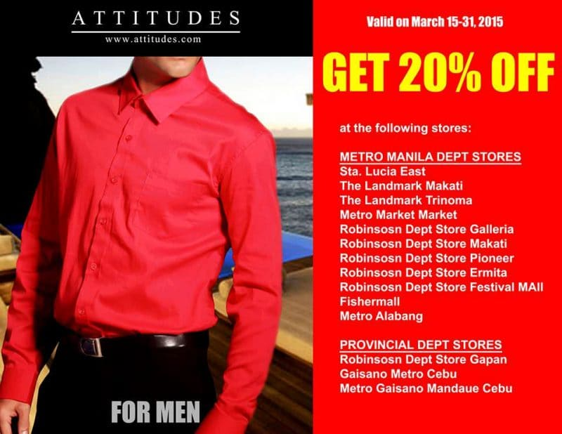 Attitudes Apparel Seven Days Super Sale