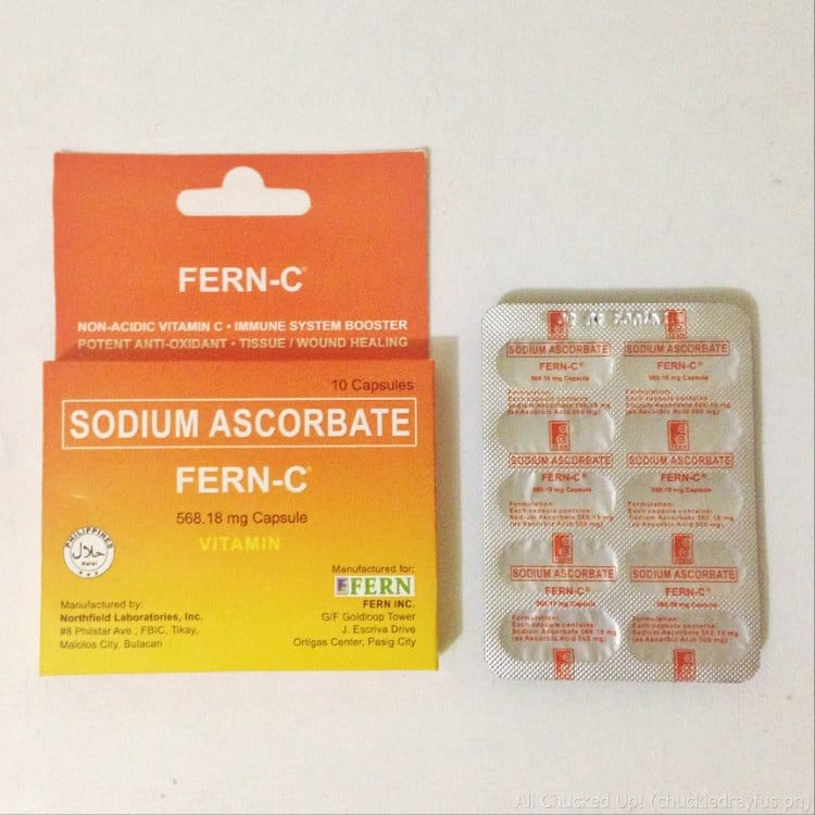 Fern-C Sodium Ascorbate - The right kind of Vitamin C