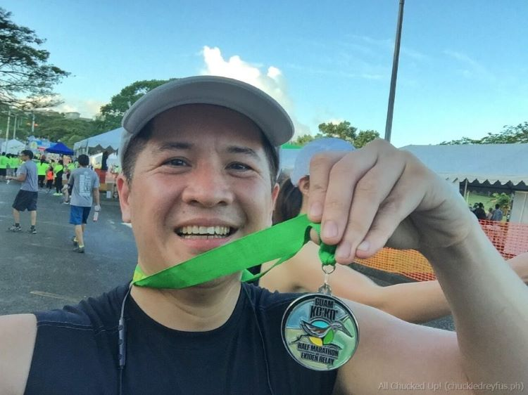Guam Ko'Ko' Road Race Half Marathon and Ekiden Relay 2015