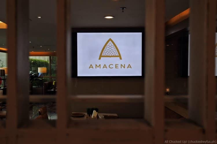 Amacena by Chef Luigi Muhlach - One Tagaytay Place Hotel