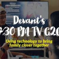 Devant's 7:30 PM TV G2G - Using technology to bring family closer together