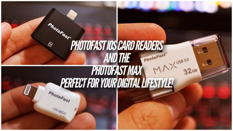 PhotoFast iOS SD Card Reader - PhotoFast MAX - Featured Image