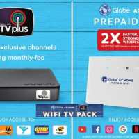 The Globe At Home WiFi TV Pack - Complete your entertainment experience!