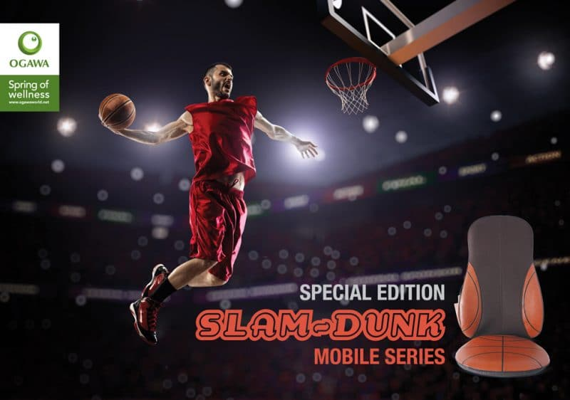 Slam Dunk Mobile Series massage chair
