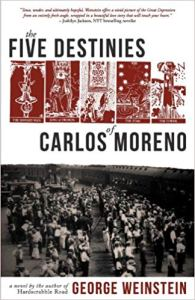 Book Cover: The Five Destinies of Carlos Moreno