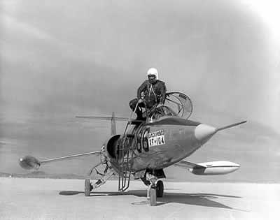 Chuck Yeager and F-104