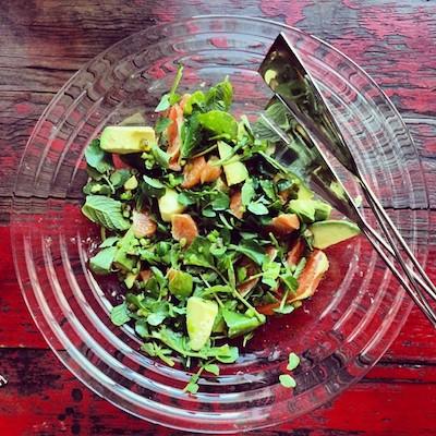 avocado orange jalapeno