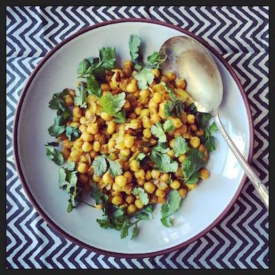 garbanzo curry