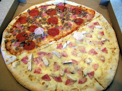 Paizano's giant 24-inch pizza