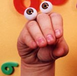 Oobi the bare-hand puppet