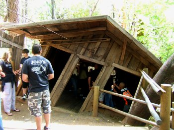 The Mystery House at the Oregon Vortex