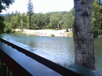 Rogue River from Guadalajara's in Shady Cove, Oregon