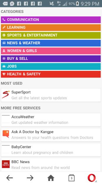 cheap internet data -  Freebasics