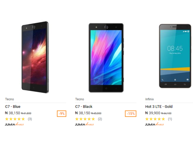 Android phones Black Friday Deals