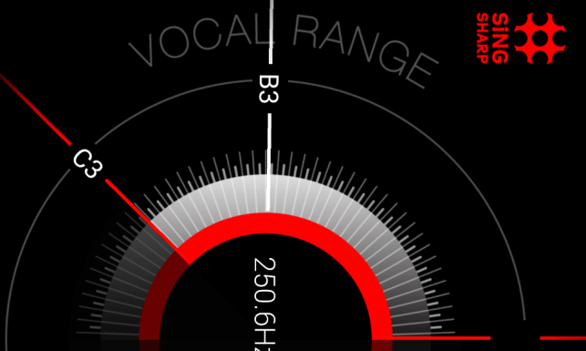 vocal range - sing sharp
