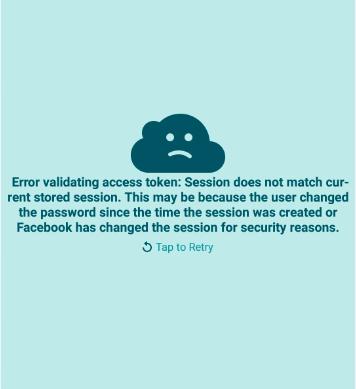 Error validating access token wordpress website