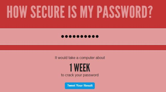 Bruteforce crack your password