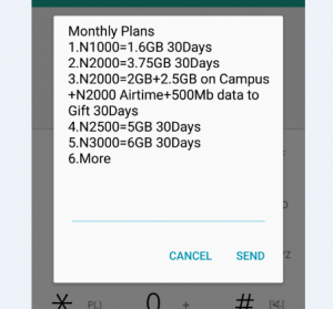 GLO 3G Monthly Internet Mobile Data Plans