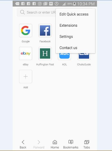 samsung internet mobile browser updates