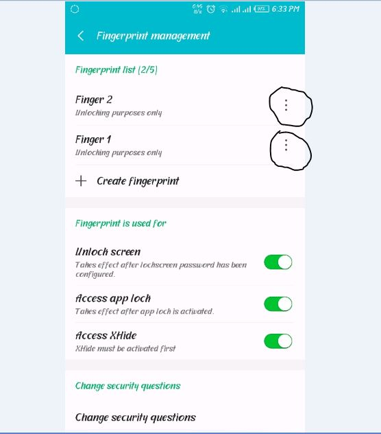 How to Fix Infinix FingerPrint problems cannot be deleted