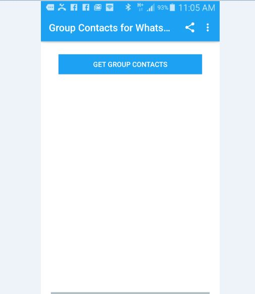 How to Easily Extract WhatsApp Group Contacts Numbers without PC