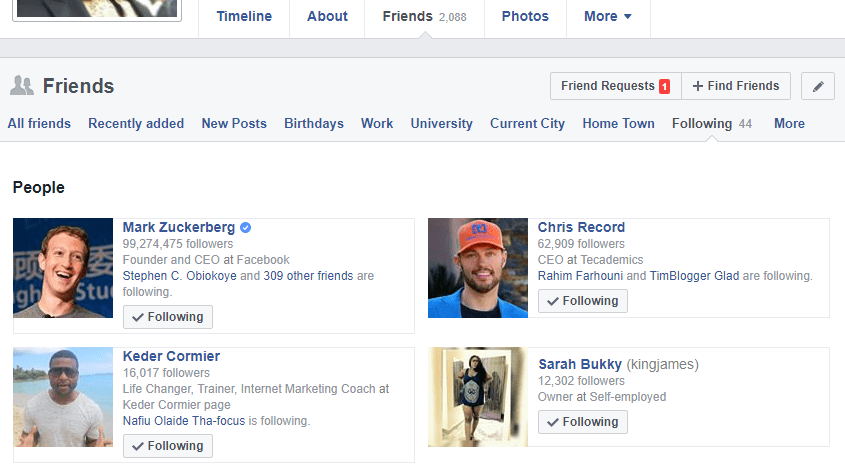 How to view sent friend requests on Facebook » ChuksGuide