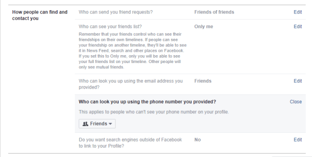 Friend Requests from Strangers