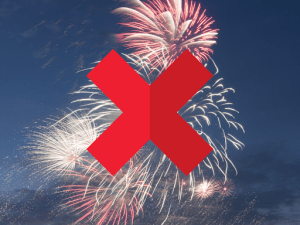 No Fireworks Chula Vista