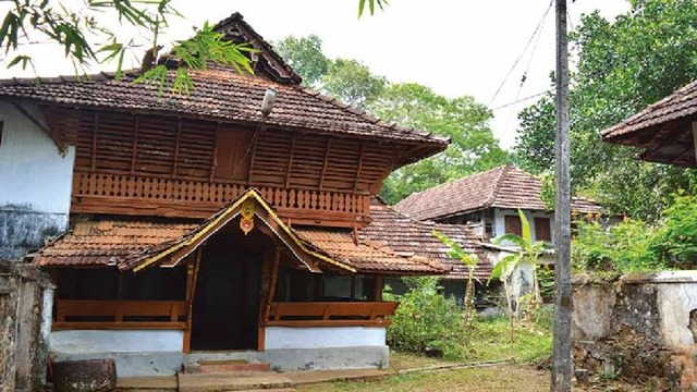 poonjar palace - archaeology.kerala.gov.in
