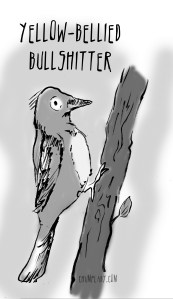 bullshit bird