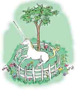 Unicorn cage