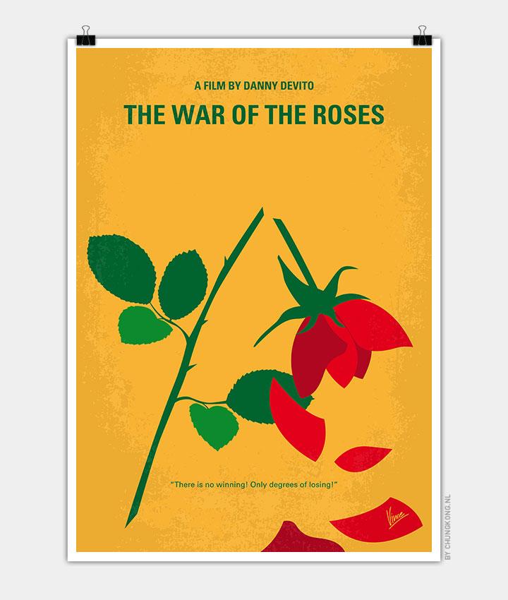 roses minimal movie poster chungkong