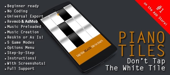 piano tiles don t tap the white tile source code