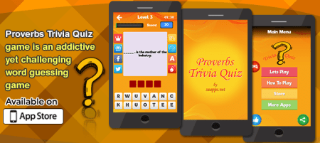 Buy Proverbs Trivia Quiz  Word Guessing Game Trivia and Quiz and     Proverbs Trivia Quiz  Word Guessing Game