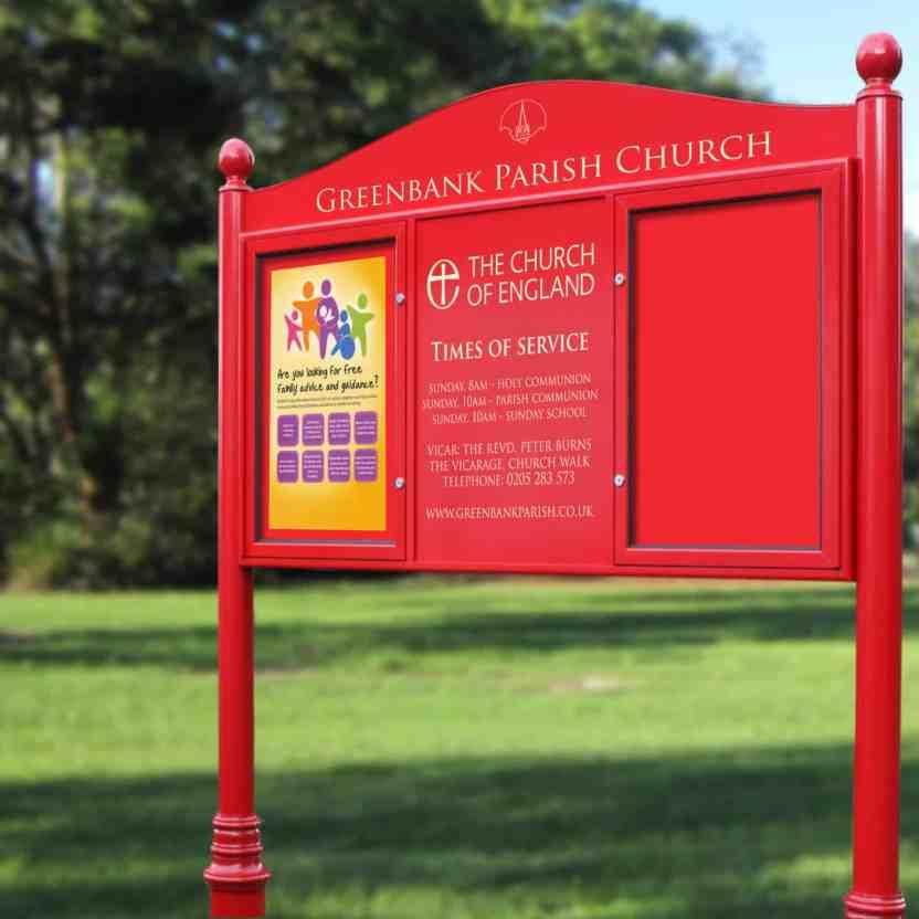 Church Notice Boards